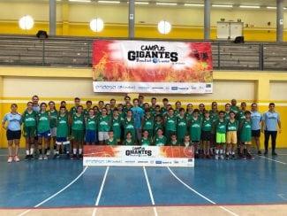 Nico Richotti y sus clases de tiro en los Campus Gigantes Basket Lover