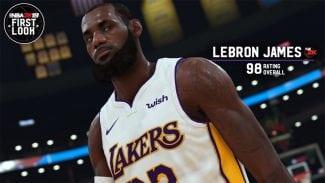 LeBron James tendrá 98 de valoración en el NBA 2K19