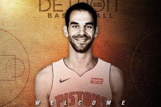 Primeras declaraciones de Calderón como jugador de los Detroit Pistons