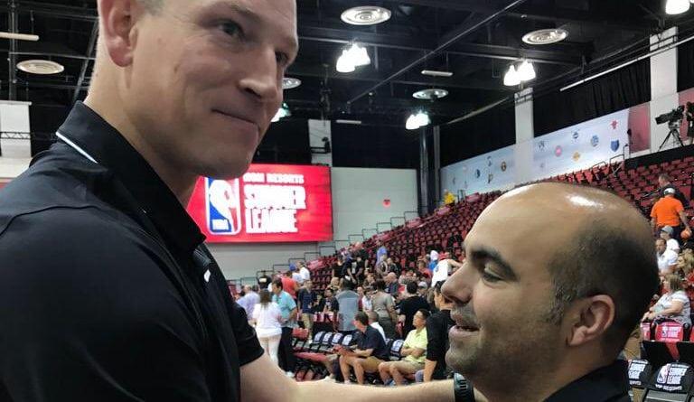 Reecuentro 'canario' en la Liga de Verano de la NBA