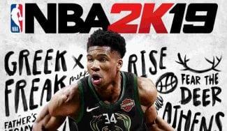 Giannis Antetokounmpo, primer jugador internacional portada del NBA 2K
