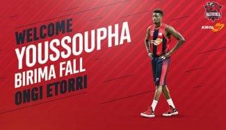 Youssoupha Fall, un gigante que llega al Kirolbet Baskonia