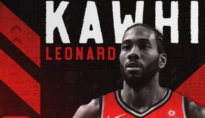 """La reacción de Kawhi Leonard al llegar a los Raptors: """"Se le iluminó la cara"""""""