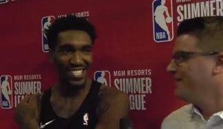 La reacción de Malik Monk cuando le dijeron que jugaría con Tony Parker