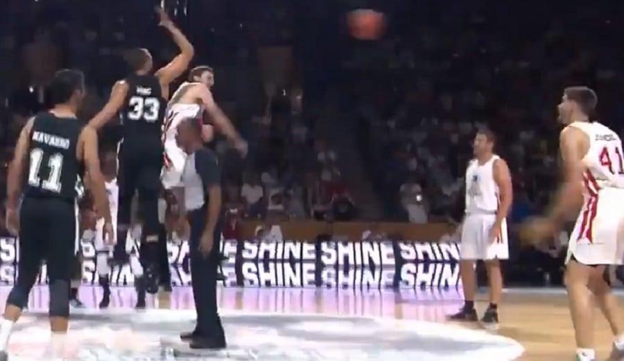 Los Gasol reviven en el 'Pau VS Marc' su salto del All-Star NBA 2015
