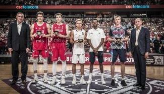 Marko Pecarski: el MVP del Europeo Sub 18 nació en España