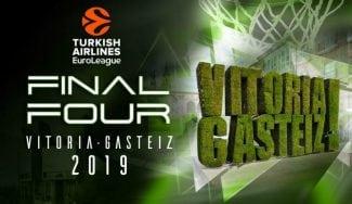 La Final Four de Vitoria 2019 se jugará entre el 17 y el 19 de mayo