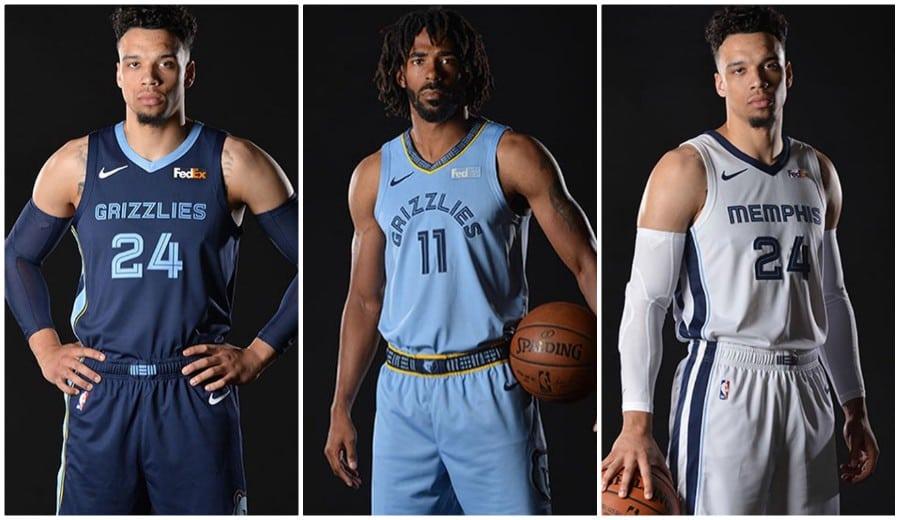 6b31057affa Nuevos uniformes para los Memphis Grizzlies