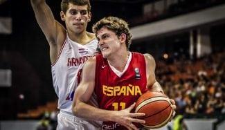 España cae ante Croacia en la final de infarto del Europeo sub-16
