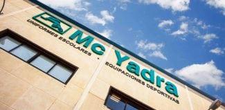 Mc Yadra lanza la nueva web de su línea de negocio deportivo