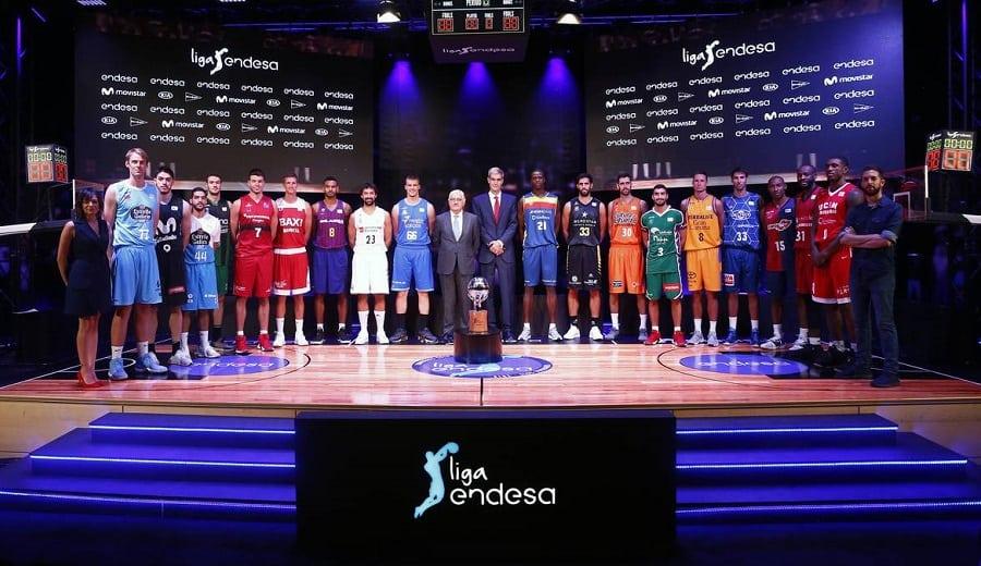 Todas las equipaciones de los equipos de la Liga Endesa 2018-19