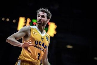 El UCAM Murcia recupera a Álex Urtasun para cubrir la lesión de Todorovic