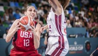 Estados Unidos se va por encima de la centena ante Letonia