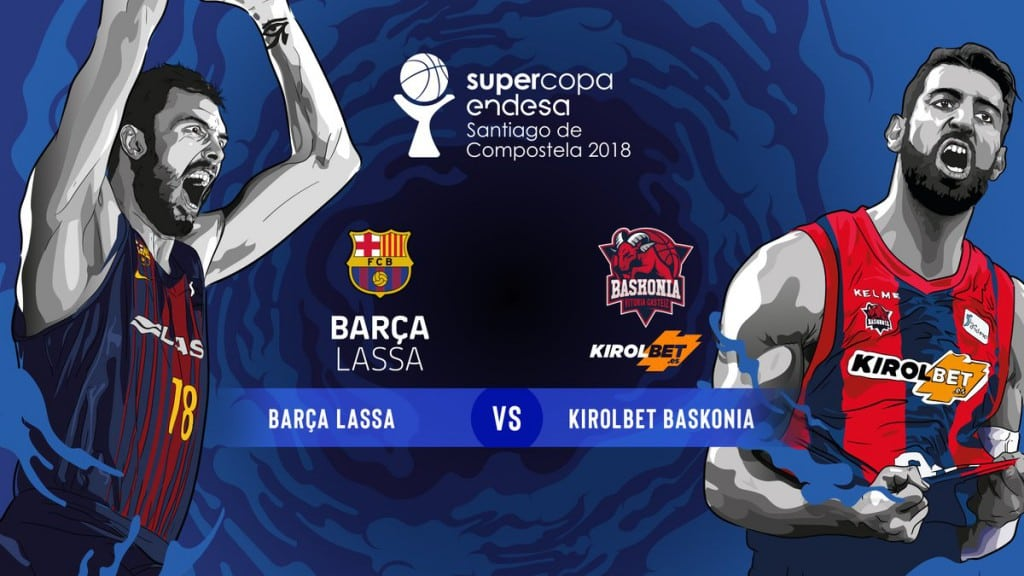 Supercopa Endesa 2018: Horarios y dónde ver por TV el Obradoiro-Real Madrid y Barça-Baskonia