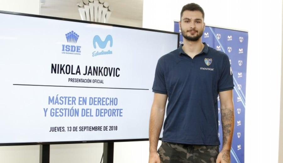 """Nikola Jankovic: """"No siento presión, me gusta el baloncesto, jugar y competir"""""""