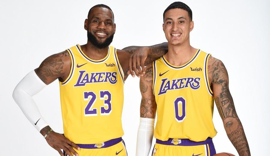 Primeras pruebas en los Lakers de LeBron: Kuzma, ¿jugando de pívot?