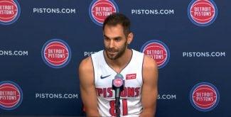 José Manuel Calderón habla su papel en los Pistons y su reencuentro con Casey