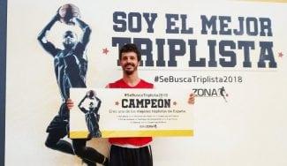 Óscar Herrero, ganador del Concurso de KIA en Zona, competirá contra los mejores triplistas de la Liga Endesa