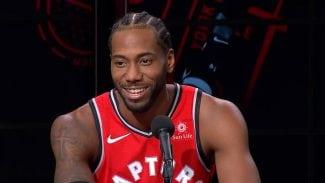 La 'extraña' risa de Kawhi Leonard y sus palabras sobre los Spurs, su estado…