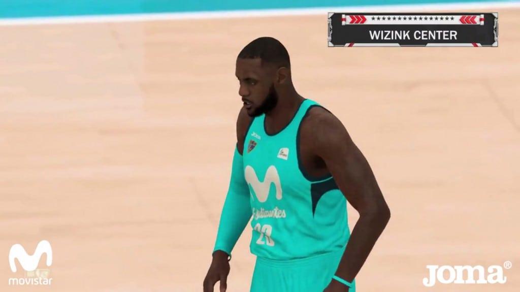 El Estu 'ficha' a LeBron James para presentar sus nuevas camisetas