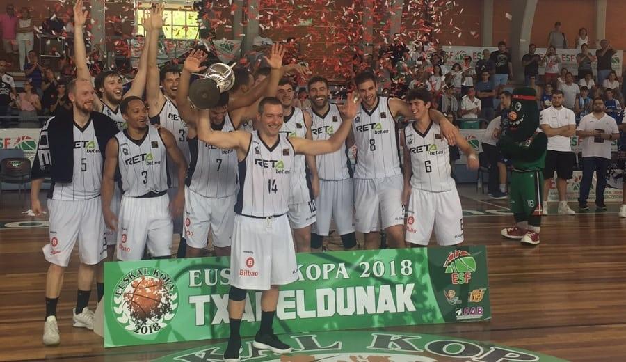 El Bilbao Basket sorprende a Delteco GBC y se lleva otra Euskal Copa