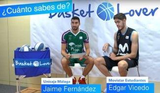 Jaime Fernández y Edgar Vicedo, en el reto '¿Cuánto sabes?' de Endesa
