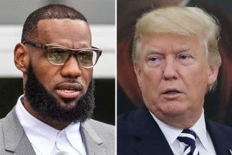 LeBron James lanza un dardo envenenado a Donald Trump