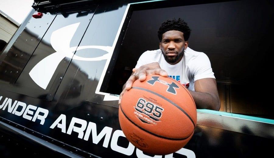 Joel Embiid es «mucho más grande que el baloncesto» con Under Armour