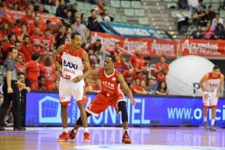 El BAXI Manresa sólo gana fuera de casa: victoria en Murcia y tres de tres