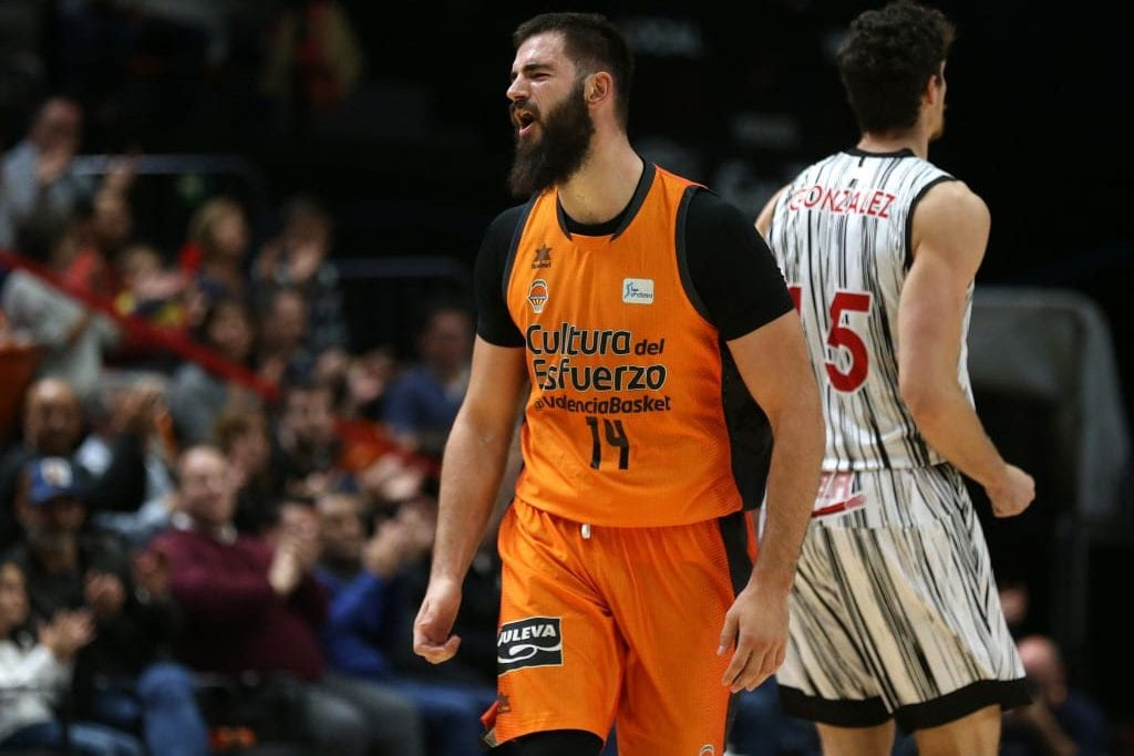 Bojan Dubljevic, MVP de la Jornada y anotador histórico con Valencia Basket