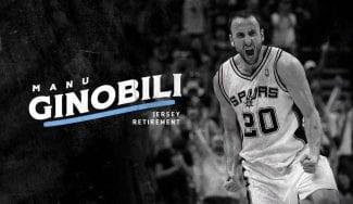 Los Spurs retirarán el dorsal de Manu Ginóbili