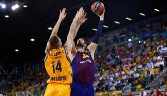 El Gran Canaria se lleva un partido con final épico ante el Barcelona