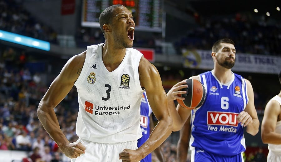 Anthony Randolph no estará al inicio de la pretemporada del Real Madrid