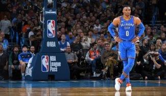 Los Thunder ya están 0-4, pero Russell Westbrook dice no estar preocupado