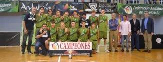 Sevilla campeona de Andalucía de Selecciones Provinciales Cadete Masculino