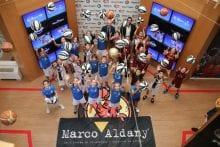 Banderazo de salida a las ligas Marco Aldany y Mister A de la Federación de Baloncesto de Madrid. #FBM