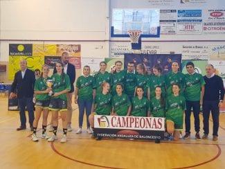 Granada se cuelga la medalla de Oro del Campeonato de Andalucía de Selecciones Provinciales Cadete Femenino