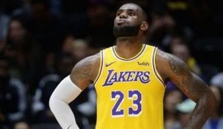 LeBron James se rinde a los pies de los jugadores europeos