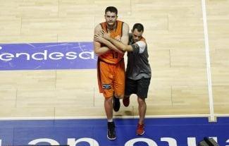 El Valencia Basket pierde a Antoine Diot y Mike Tobey para tres semanas