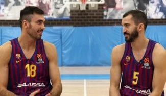 Pau Ribas y Pierre Oriola discuten sus quintetos históricos de la Euroliga