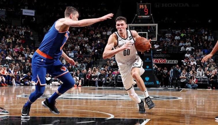 Buen estreno de Rodions Kurucs con los Brooklyn Nets en pretemporada