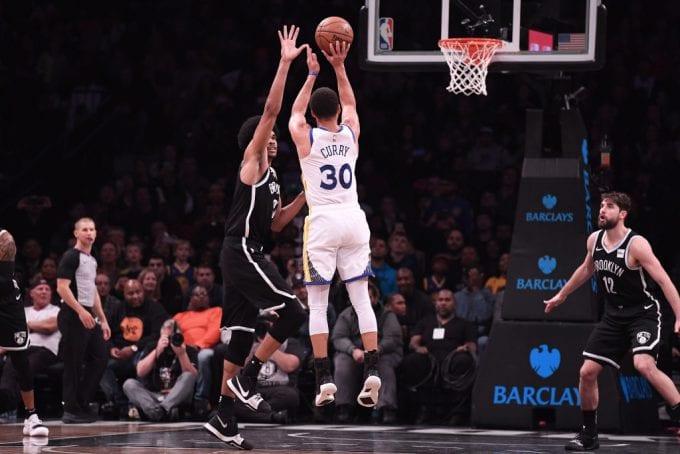 Los mejores triples de Stephen Curry en lo que va de temporada