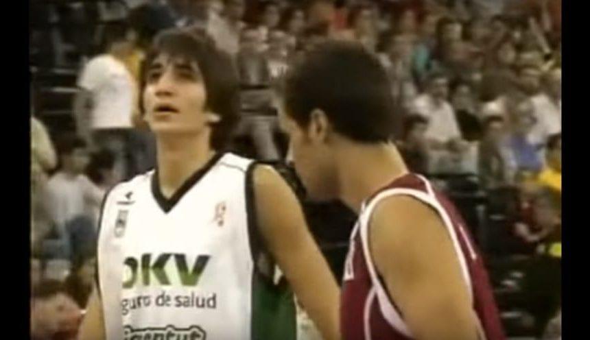 El día que Ricky Rubio debutó en la Liga Endesa con sólo 14 años