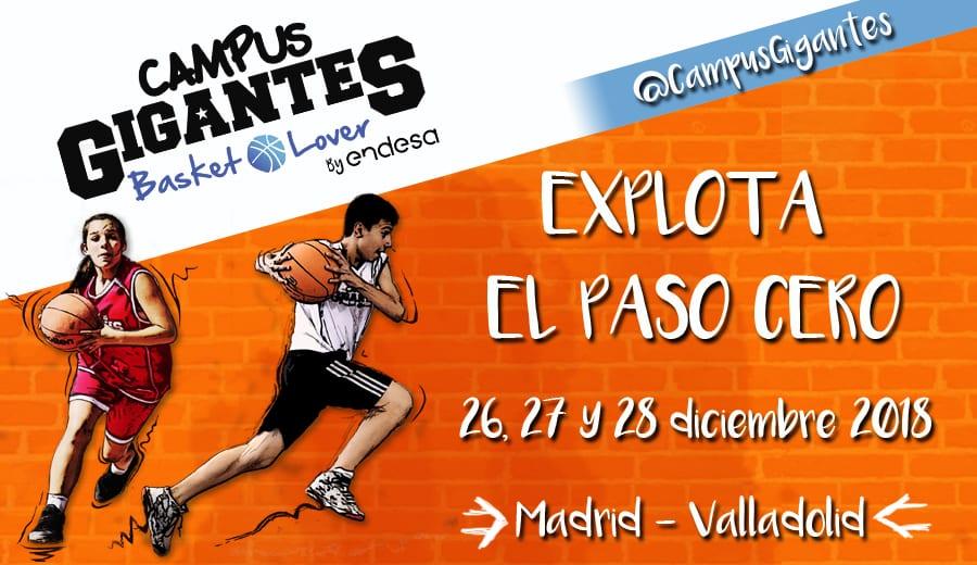Vuelve el Campus Gigantes Basket Lover: continúa el desafío