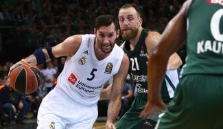 Rudy lidera la remontada del Real Madrid en Kaunas: sus triplazos decisivos