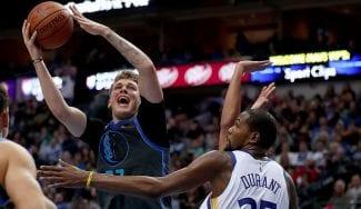 Los elogios de Durant a Luka Doncic, el mejor en la victoria ante los Warriors