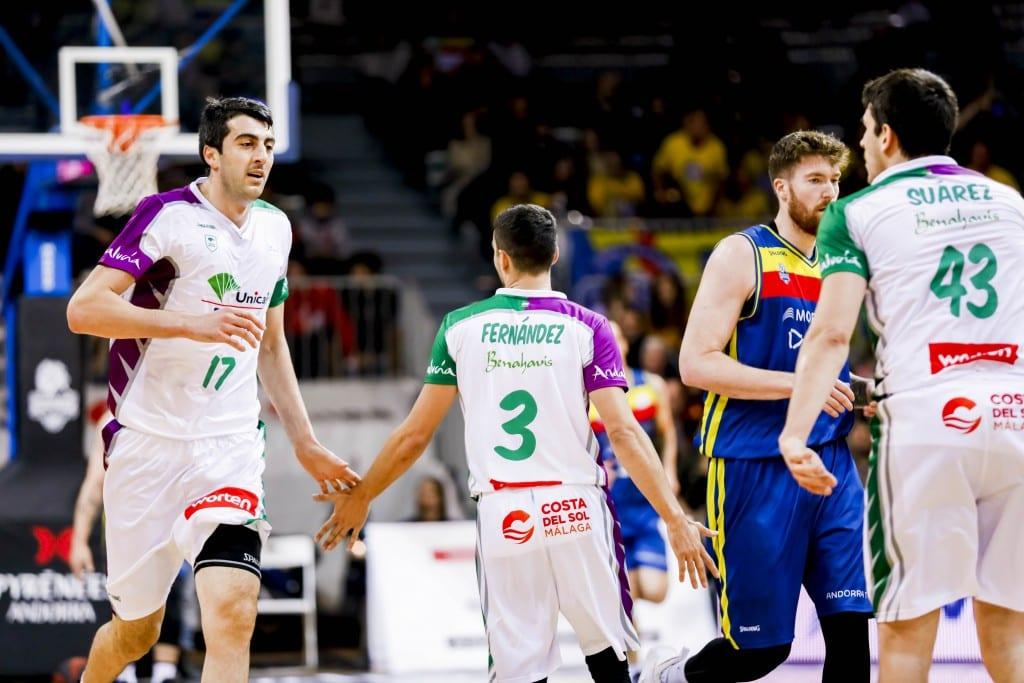 Shermadini y Roberts pueden con el 'matagigantes' Andorra