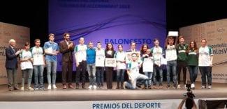 La selección femenina, Alderete y Valcude, premiados en Alcobendas #FBM