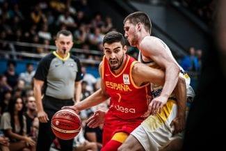 Lista oficial de España para la ventana FIBA del mes de noviembre