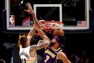 Juancho Hernangómez convence como titular y deja un matazo contra los Lakers